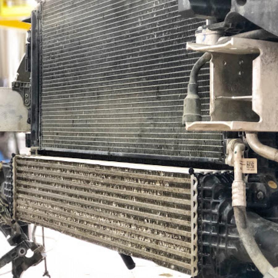 Чистка радиаторов