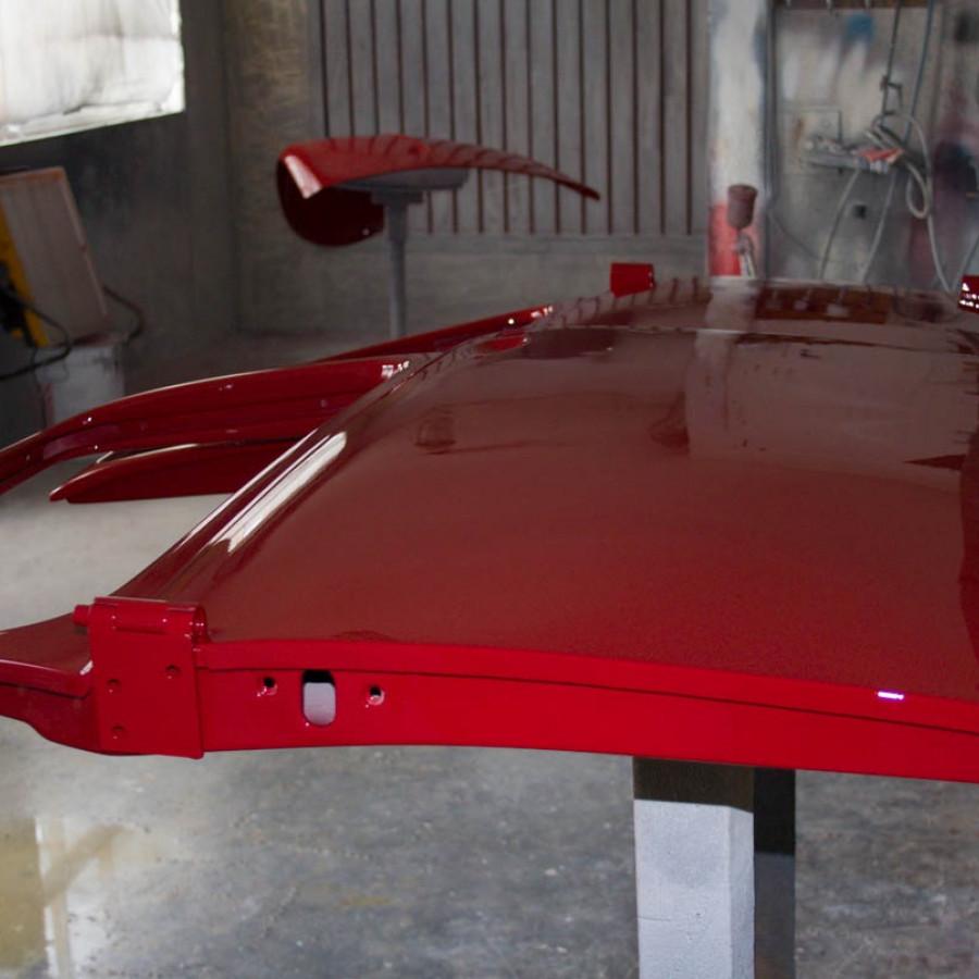 Покраска двери автомобиля